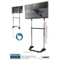 Uni-pro 1k Pedestal Para Tv 32 A 60 Pol. Com Pe Nivelador