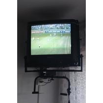 Tv Tela Plana 21 Sony Com Controle Remoto 110v Usado