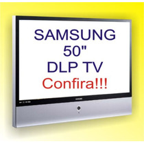 Tv Projecao Dlp Samsung 50 Polegadas - Hdtv Ready Hdmi Dvi