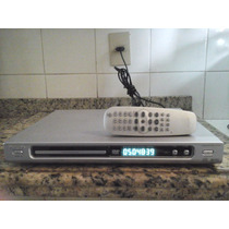 Dvd Player Philips Dvd 625/782 Controle Remoto Conservado !
