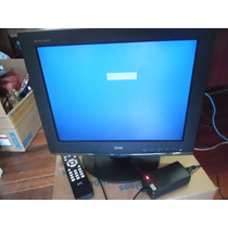 Tv E Monitor Pc12 Volts E 127 E 220 Volts Tela 15 Polegadas