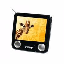 Tv Portátil Coby Digital Isdb-t 3.5 Polegadas E Rádio Fm
