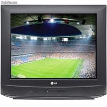 Tv 21 Polegadas,de Tubo,ultra Slim ,semi Nova,com Controle.
