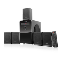 Home Theater 80w 5.1 C/ Display Led-multilaser Sp177