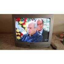 Tv Televisão Philco 20 Polegadas Controle Funcionando