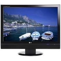 Tv Monitor Lg Flatron 19 Lcd Polegadas Em Perfeito Estado