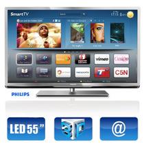 Smart Tv 3d Led 55 Philips Serie 6000 Barata Oportunidade !!