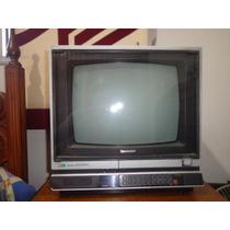 Tv 14 Sharp C/ Controle Remoto E Proteção De Tela