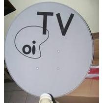 05 Antenas 75 Cm Oi R$ 450.00 Completas Frete Gratis