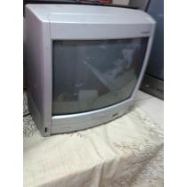 Tv De 14 Polegadas Bem Antiga