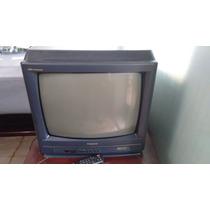 Tv Panasonic 20 Top Dome C/ Controle Remoto - Funcionando Ok