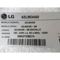 (238) Lg 42lm3400 Placa Fonte Eax64604501(1.5)