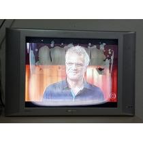 Tv Lcd Philips 20 Polegadas - Com A Tela Manchada!