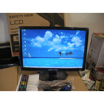 Tv-monitor Safety View Lcd 19 Pol Widescreen