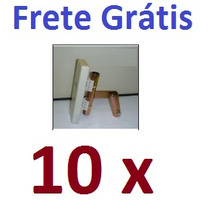 Kit 10 Suportes 3/4° Polegada Com Regulagem Para Nanostation