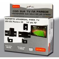 Suporte Fixo Universal Tv Led-lcd, Plasma E 3d - 14