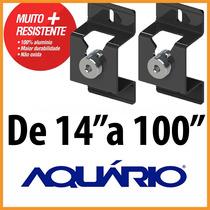 Suporte Alfa Plus Aquário Stv-02 P/ Tv De 14 A 100 Polegadas