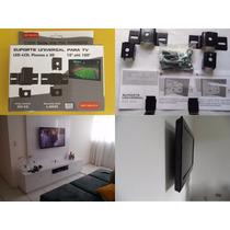 Suporte Tv Fixo Led E Smart Tv 42 47 48 50 52 55 Polegadas