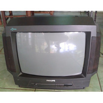 Tv Convencional Crt Philips 20 Polegadas Super Conservada