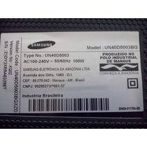 Placa Mae De Uma Tv Samsung 40 Mod Un40d5003