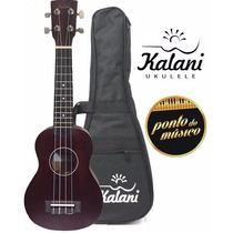 Ukulele Soprano Acustico Kalani C/ Capa L O J A