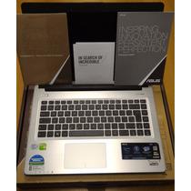 Ultrabook Asus S46cb-wx228h, I7 3537u, 6gb, 1t+24ssd, Gt740m