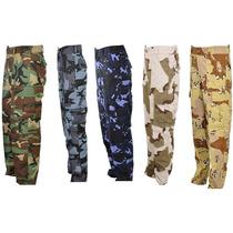 Calça Camuflada Militar Várias Cores - Ótimo Preço/qualidade