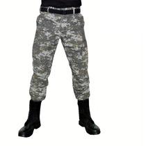 Calça Masculina Ripstop Camuflada Areia Digitalizado Tam 42