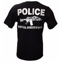 Camiseta Miami Police Tactical Narcotics Team Tam. M