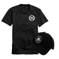 Camiseta Operações Especiais Caveira + Boné Tropa De Elite