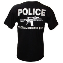 Camiseta Miami Police Tactical Narcotics Team Tam. Gg