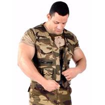 Colete Camuflado Woodland Frete Grátis Tático Militar