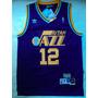 Camisa Nba Utah Jazz Stockton #12 - Frete Grátis 21sports