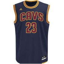 Camisa Nba Oficial Cleveland 23 Lebron James Love Irving