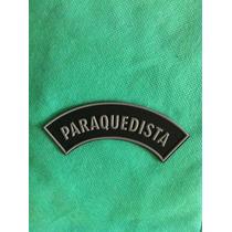 Pm25 Distintivo Paraquedista (manicaca) Emborrachado