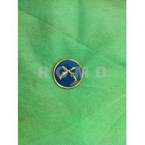 5e34 Distintivo Estágio Da Polícia Do Exército Dourado