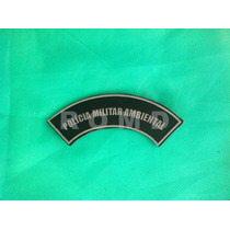 Pmmpm Distintivo Polícia Militar Ambiental (emborrachado)