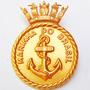 Broche Militar Distintivo De Guerra Marinha Do Brasil
