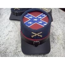 Cap Boné Confederados Com Bandeira Guerra Civil Usa
