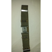 Conjunto Cinto + Suspensórios Modelo Usarmy - Produto Usado