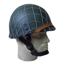 Capacete Usado Na Segunda Guerra Mundial - M1 Com Rede
