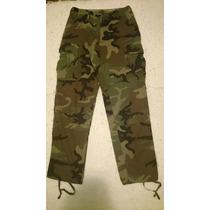 Calça Militar Americana Original Woodland Us Army