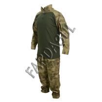 Farda Uniforme A-tacs Fg Combat Shirt + Calça Tática