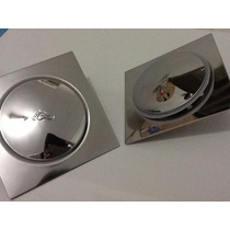 Kit 6x Ralo Clic Inox 15x15 Cm + 2x Válvula Click
