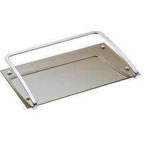 Bandeja Para Lavabo - 26 X 16 Cm - Espelho Bronze 1378-24