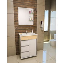 Gabinete / Armário Banheiro Fit Style 60
