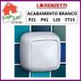 Acabamento Valvula Descarga Lorenzetti Brnaco P21 P41 L20