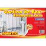 Cortina De Box Estampada Luxo (1,38m X 2,00m) Cm 8 Gancho Jb