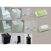 Kit Potes P/ Banheiro C/strass_ Personalizado