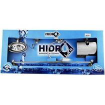 Kit 5 Acessórios P Banheiro Aço Inox Hidrolar